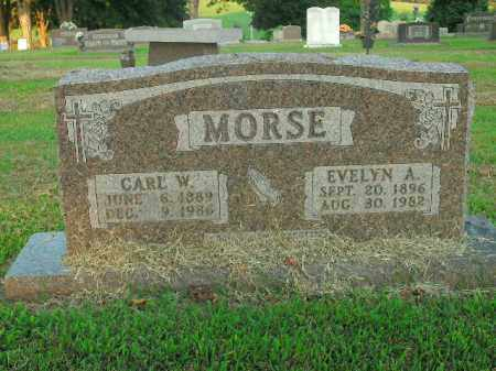 MORSE, CARL W. - Boone County, Arkansas | CARL W. MORSE - Arkansas Gravestone Photos