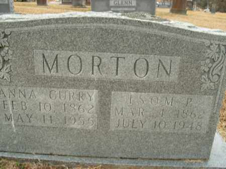 MORTON, ISOM P. - Boone County, Arkansas | ISOM P. MORTON - Arkansas Gravestone Photos
