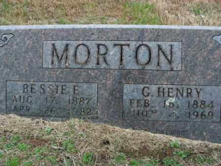 MORTON, BESSIE E. - Boone County, Arkansas | BESSIE E. MORTON - Arkansas Gravestone Photos