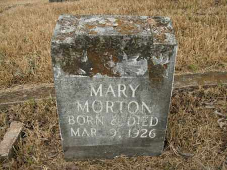 MORTON, MARY - Boone County, Arkansas | MARY MORTON - Arkansas Gravestone Photos