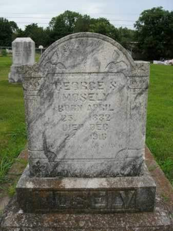 MOSELY, GEORGE S. - Boone County, Arkansas | GEORGE S. MOSELY - Arkansas Gravestone Photos
