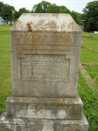 MOSELY, WILLIAM L. - Boone County, Arkansas | WILLIAM L. MOSELY - Arkansas Gravestone Photos