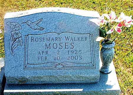 WALKER MOSES, ROSEMARY - Boone County, Arkansas | ROSEMARY WALKER MOSES - Arkansas Gravestone Photos
