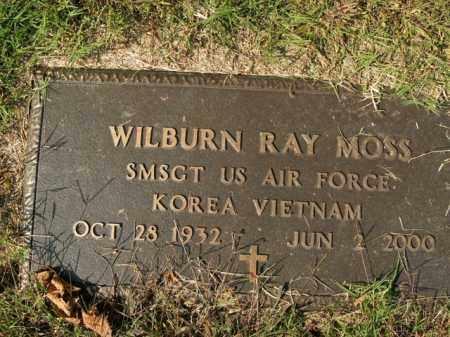 MOSS  (VETERAN 2 WARS), WILBURN RAY - Boone County, Arkansas | WILBURN RAY MOSS  (VETERAN 2 WARS) - Arkansas Gravestone Photos