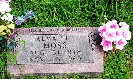 MOSS, ALMA LEE - Boone County, Arkansas | ALMA LEE MOSS - Arkansas Gravestone Photos