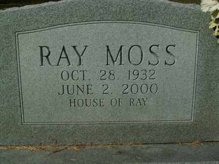 MOSS, RAY - Boone County, Arkansas | RAY MOSS - Arkansas Gravestone Photos