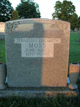 MOSS, TENNESSEE ELIZABETH - Boone County, Arkansas | TENNESSEE ELIZABETH MOSS - Arkansas Gravestone Photos