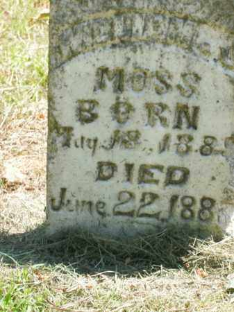 MOSS, WILLIAM J. - Boone County, Arkansas | WILLIAM J. MOSS - Arkansas Gravestone Photos
