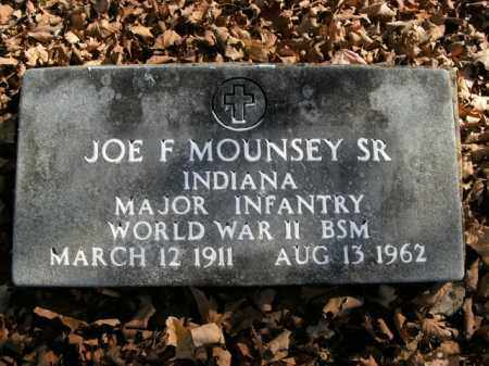 MOUNSEY, SR  (VETERAN WWII), JOE F - Boone County, Arkansas | JOE F MOUNSEY, SR  (VETERAN WWII) - Arkansas Gravestone Photos