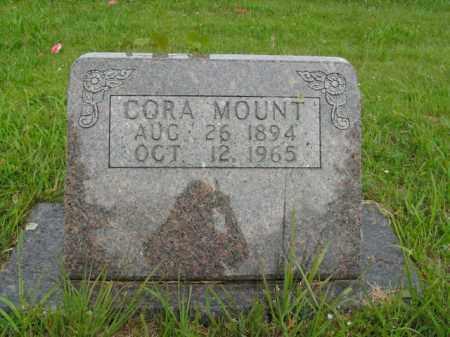 MOUNT, CORA - Boone County, Arkansas | CORA MOUNT - Arkansas Gravestone Photos