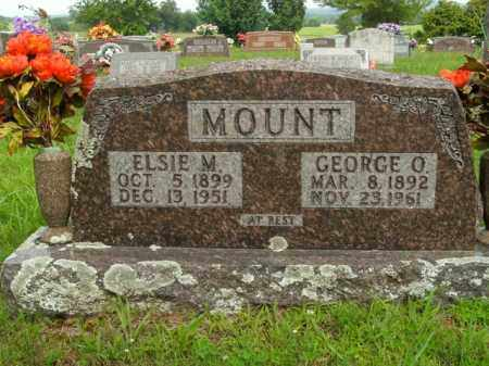 MOUNT, GEORGE O. - Boone County, Arkansas | GEORGE O. MOUNT - Arkansas Gravestone Photos