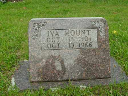 MOUNT, IVA - Boone County, Arkansas | IVA MOUNT - Arkansas Gravestone Photos