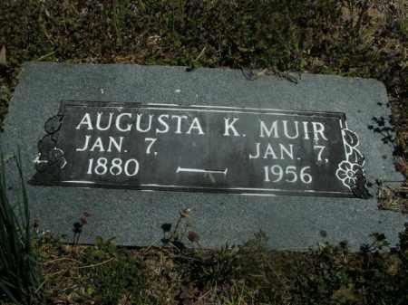 MUIR, AUGUSTA K. - Boone County, Arkansas | AUGUSTA K. MUIR - Arkansas Gravestone Photos