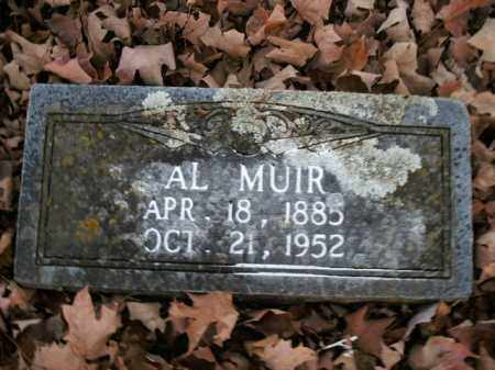 MUIR, AL - Boone County, Arkansas | AL MUIR - Arkansas Gravestone Photos