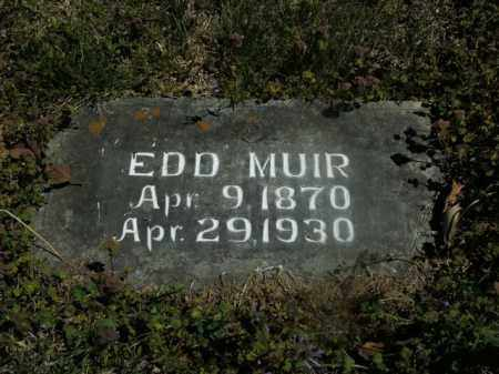 MUIR, EDD - Boone County, Arkansas | EDD MUIR - Arkansas Gravestone Photos