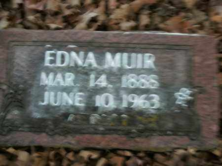 MUIR, EDNA - Boone County, Arkansas | EDNA MUIR - Arkansas Gravestone Photos