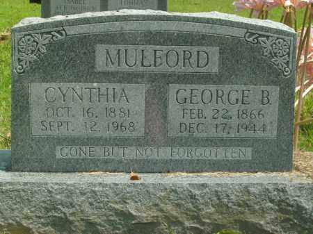 MULFORD, GEORGE B. - Boone County, Arkansas | GEORGE B. MULFORD - Arkansas Gravestone Photos