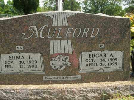 MULFORD, EDGAR A. - Boone County, Arkansas | EDGAR A. MULFORD - Arkansas Gravestone Photos
