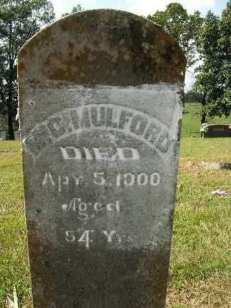 MULFORD, MIC. - Boone County, Arkansas | MIC. MULFORD - Arkansas Gravestone Photos