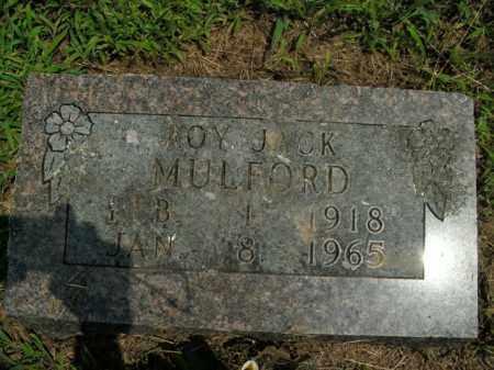 MULFORD, ROY JACK - Boone County, Arkansas | ROY JACK MULFORD - Arkansas Gravestone Photos