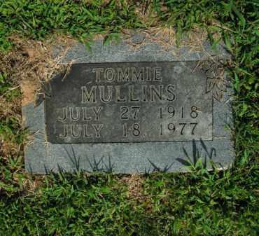 MULLINS, TOMMIE - Boone County, Arkansas | TOMMIE MULLINS - Arkansas Gravestone Photos