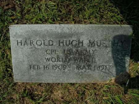 MURPHY  (VETERAN WWII), HAROLD HUGH - Boone County, Arkansas | HAROLD HUGH MURPHY  (VETERAN WWII) - Arkansas Gravestone Photos