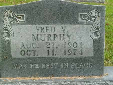 MURPHY, FRED V. - Boone County, Arkansas | FRED V. MURPHY - Arkansas Gravestone Photos