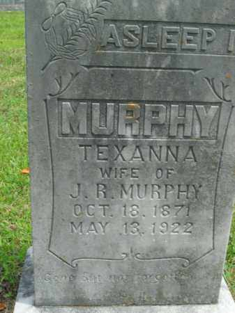 MURPHY, TEXANNA - Boone County, Arkansas | TEXANNA MURPHY - Arkansas Gravestone Photos