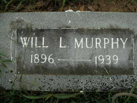 MURPHY, WILL L. - Boone County, Arkansas | WILL L. MURPHY - Arkansas Gravestone Photos