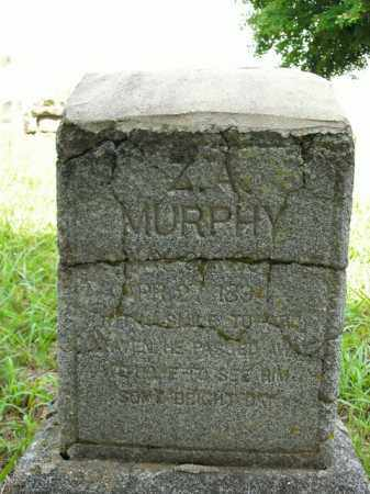 MURPHY, ZEBULON A. - Boone County, Arkansas | ZEBULON A. MURPHY - Arkansas Gravestone Photos