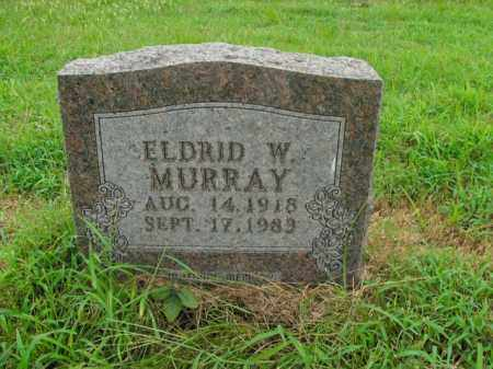 MURRAY, ELDRID W. - Boone County, Arkansas | ELDRID W. MURRAY - Arkansas Gravestone Photos