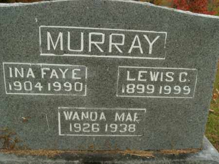 MURRAY, INA FAYE - Boone County, Arkansas | INA FAYE MURRAY - Arkansas Gravestone Photos