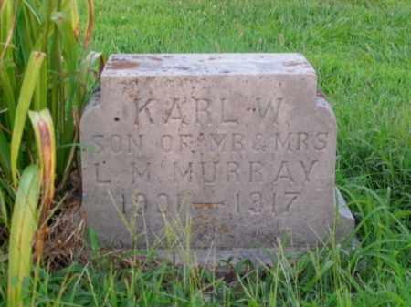 MURRAY, KARL W. - Boone County, Arkansas | KARL W. MURRAY - Arkansas Gravestone Photos