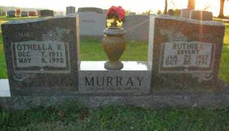 BRYANT MURRAY, RUTHIE I. (ILENE) - Boone County, Arkansas | RUTHIE I. (ILENE) BRYANT MURRAY - Arkansas Gravestone Photos
