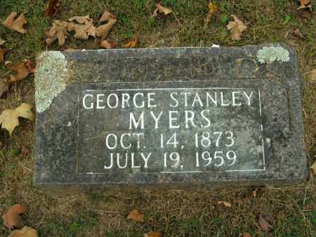 MYERS, GEORGE STANLEY - Boone County, Arkansas | GEORGE STANLEY MYERS - Arkansas Gravestone Photos