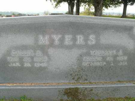 MYERS, SALLIE D. - Boone County, Arkansas | SALLIE D. MYERS - Arkansas Gravestone Photos