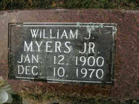 MYERS, JR, WILLIAM J - Boone County, Arkansas | WILLIAM J MYERS, JR - Arkansas Gravestone Photos