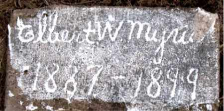 MYRICK, ELBERT W. - Boone County, Arkansas | ELBERT W. MYRICK - Arkansas Gravestone Photos