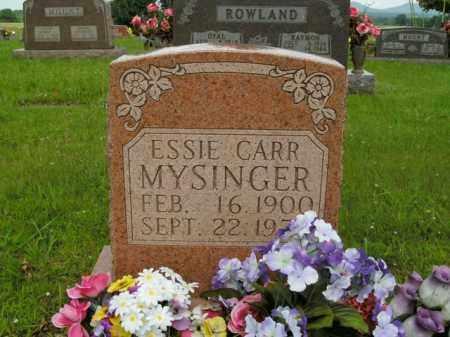 CARR MYSINGER, ESSIE - Boone County, Arkansas | ESSIE CARR MYSINGER - Arkansas Gravestone Photos
