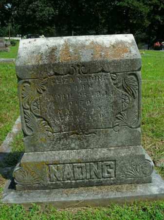 NADING, ELIZA ALVINA - Boone County, Arkansas | ELIZA ALVINA NADING - Arkansas Gravestone Photos