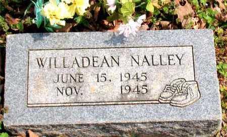 NALLEY, WILLADEAN - Boone County, Arkansas | WILLADEAN NALLEY - Arkansas Gravestone Photos