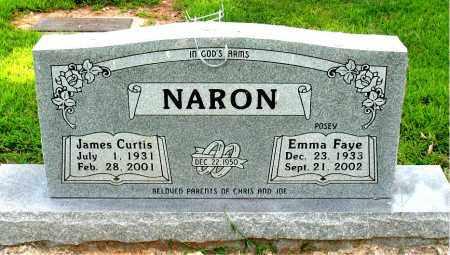 NARON, JAMES CURTIS - Boone County, Arkansas | JAMES CURTIS NARON - Arkansas Gravestone Photos