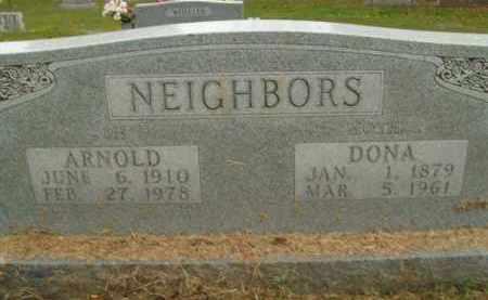 NEIGHBORS, DONA - Boone County, Arkansas | DONA NEIGHBORS - Arkansas Gravestone Photos