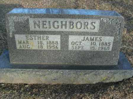 NEIGHBORS, ESTHER - Boone County, Arkansas | ESTHER NEIGHBORS - Arkansas Gravestone Photos