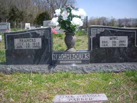 NEIGHBORS, FRANCES - Boone County, Arkansas | FRANCES NEIGHBORS - Arkansas Gravestone Photos