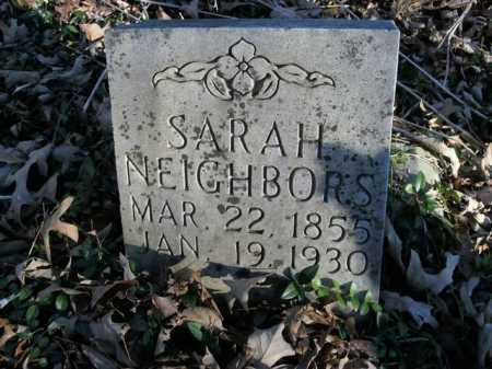 NEIGHBORS, SARAH - Boone County, Arkansas | SARAH NEIGHBORS - Arkansas Gravestone Photos