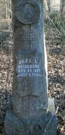 NEIGHBORS, SILES L. - Boone County, Arkansas | SILES L. NEIGHBORS - Arkansas Gravestone Photos