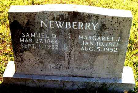 NEWBERRY, MARGARET JANE - Boone County, Arkansas | MARGARET JANE NEWBERRY - Arkansas Gravestone Photos