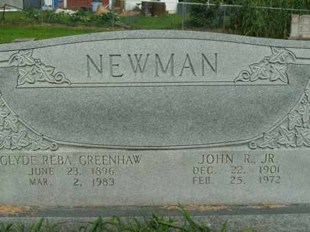 GREENHAW NEWMAN, CLYDE REBA - Boone County, Arkansas | CLYDE REBA GREENHAW NEWMAN - Arkansas Gravestone Photos