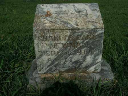 NEWMAN, CHARLES EARL - Boone County, Arkansas | CHARLES EARL NEWMAN - Arkansas Gravestone Photos